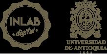 Logo livingLab y logo de la universidad de antioquia